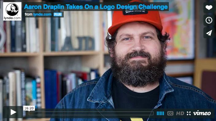 Aaron Draplin, quando a creare un logo ci può voler un quarto d'ora.