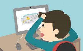 Gli errori da evitare nella tua pagina web.